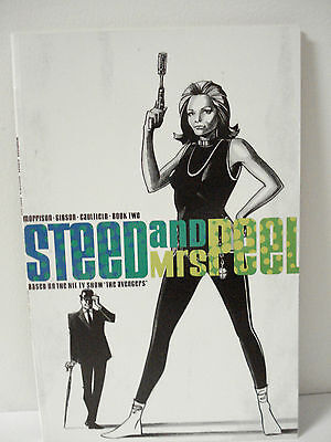 TV SHOW THE AVENGERS STEED AND MRS. PEEL COMIC BOOK No. 2 ECLIPSE 1991
