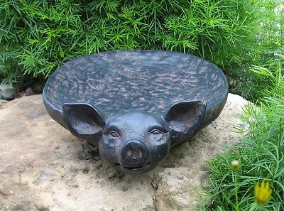PIG BOWL/Tray~Table Centerpiece~Primitive/French Country Farmhouse Decor~New