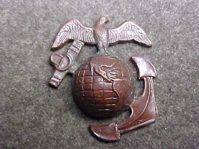 Very Rare 1926 Usmc Droop Wing Bronze Ega Marked Made In England