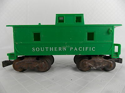 Vintage Marx Southern Pacific Caboose Green O Scale #2972