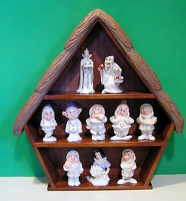 LENOX SNOW WHITE 5 SETS OF SALT & PEPPER Shakers with SHELF New in Boxes w/COA's