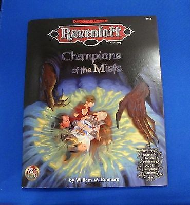 Dungeons & Dragons AD&D 2nd Ed Ravenloft Champions of the Mists TSR