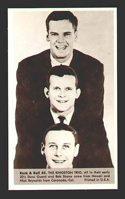 Kingston Trio MINT photo #55 from the 1959 Rock & Roll Series marketed by NU