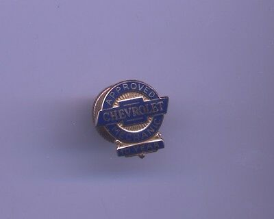 Chevrolet Approved Mechanic 10k Gold 10 year employee service pin