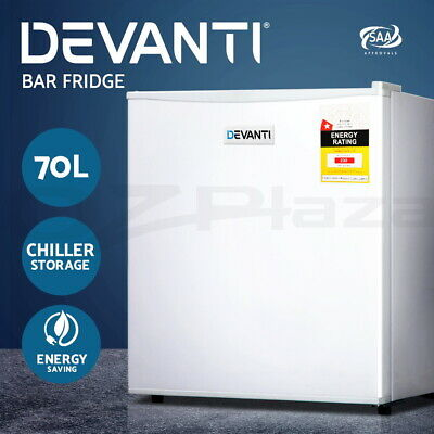 Portable Electric Mini Bar Fridge Home Office Refrigerator Cooler Freezer 70L