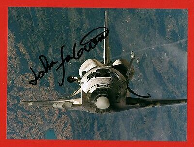 Autogramm Autograph Nasa Astronaut John Fabian Sts-Missions Challenger Discovery