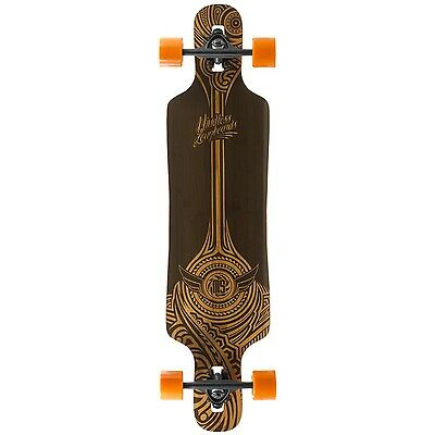 Mindless Falcon Longboard - Brown 39""