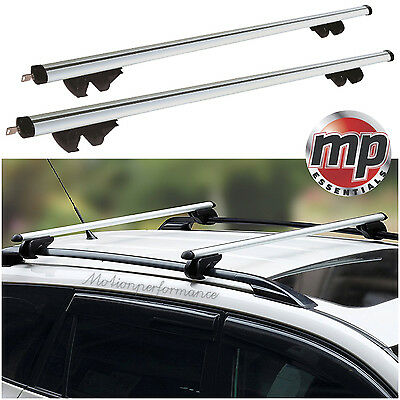 MPE Lockable Aluminium Car Roof Rack Rail Bars for Peugeot Partner Tepee (08-15)