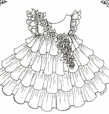 """SEWING PATTERN fits 15 16 """" DOLL dress clothes outfit  Victorian  French 236"""