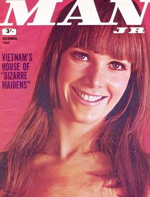 MAN JUNIOR Vintage Magazine, December 1969. Free UK Postage. Ref 3974