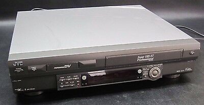 JVC Professional SR-VS30U Mini DV - S-VHS Dual Deck Recorder / Player SR-VS30