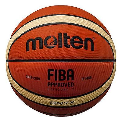 Molten GMX Parallel Pebble FIBA Approved Durable Club Leather Basketball