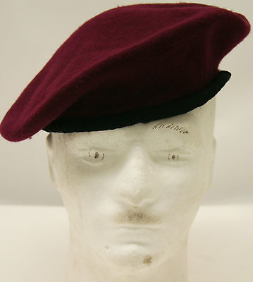 Parachute Regiment and Airborne Forces Maroon (Red) Beret Multiple Sizes NEW