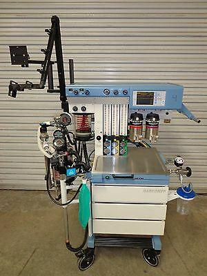 Draeger Drager Narkomed GS Anesthesia Machine System 19.1