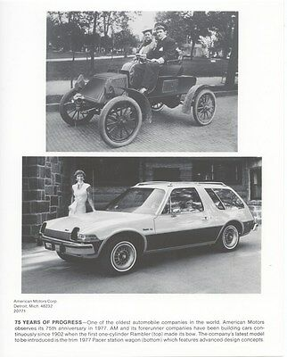 1977 AMC Pacer Station Wagon ORIGINAL Factory Photo ouc5942