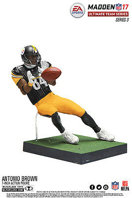 McFARLANE NFL MADDEN 17 ULTIMATE TEAM SERIES 3 ANTONIO BROWN ACTION FIGURE