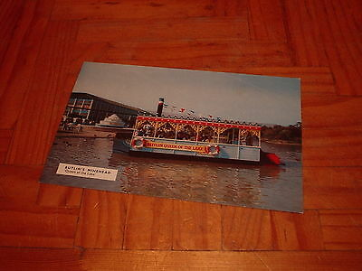 Postcard Butlin'S Minehead 'Queen Of The Lake' Boat Unposted