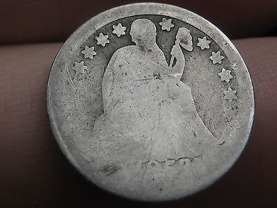 1853 Seated Liberty Silver Dime- with Arrows