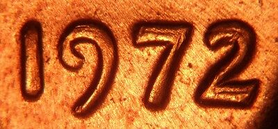 1972/72 Doubled Die Obv # 8 - FS-108 (033.58) Lincoln Cent- Early Die State - BU