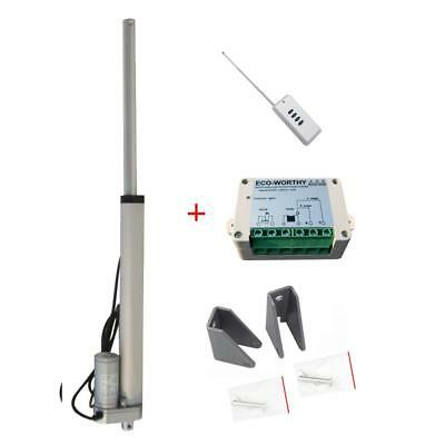 "12"" DC12V Volt Linear Actuator Motors Kits W/ Wireless Control for Camera,Car"