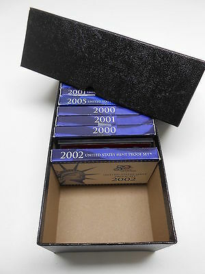 Heavy Duty Storage Box For U.s. Mint Proof Sets - Silver Coins & Others