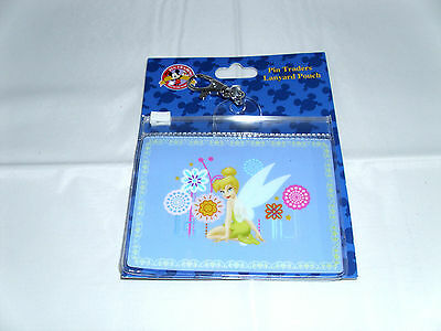 Disney * TINKER BELL * Pin Trading Lanyard Clip Fast Pass Pouch