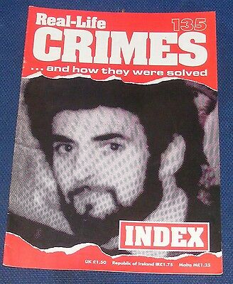 Real Life Crimes Number 135 - Index