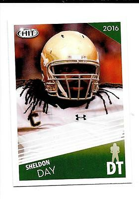 2016 HIT LARGE 50ct Sheldon Day (Jacksonville/Notre Dame) Rookie Lot