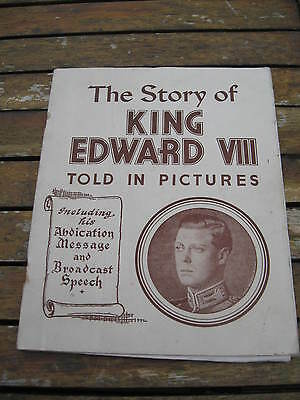 The Story of King Edward V111 Told In Pictures