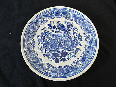 Vintage Delft Blauw Hand-Painted Holland Collectors Plate