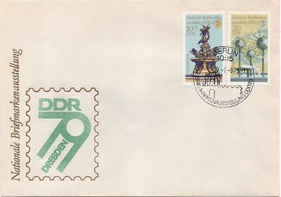 """2539/40 """"Leipziger Herbstmesse 1980"""" FDC"""