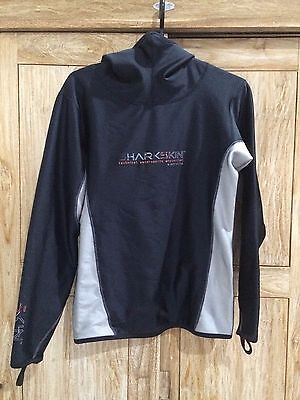 Men's Sharksin, fleece-lined, long-sleeve, hooded, size M