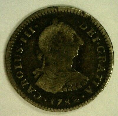 1782 Mexico Silver 1 Real Nice Detail        (3301)