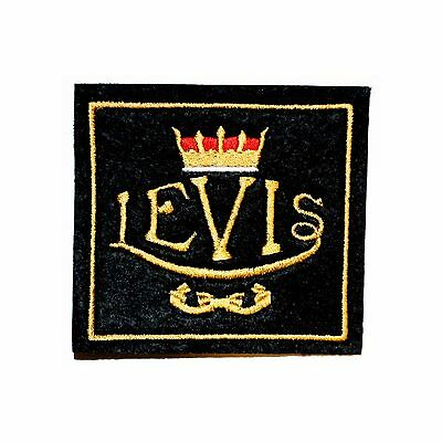Classic Levis Motorcycle Embroidered Patch/vintage,veteran