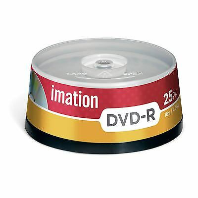 Imation 73000019460 -  DVD-R 16X 25PK SPINDLE 4.7GB 15-LANG (1Year warranty)