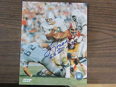 7c4073e7d7d LARRY CSONKA AUTOGRAPH   Signed 8 x 10 photo Miami Dolphins 72 17-0 ...