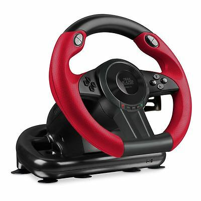 SPEEDLINK  Trailblazer Vibration Effect Racing Wheel with Pedals for Microso...
