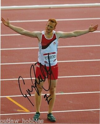 Greg Rutherford Great Britain Long Jump Autographed Signed 8x10 Photo COA
