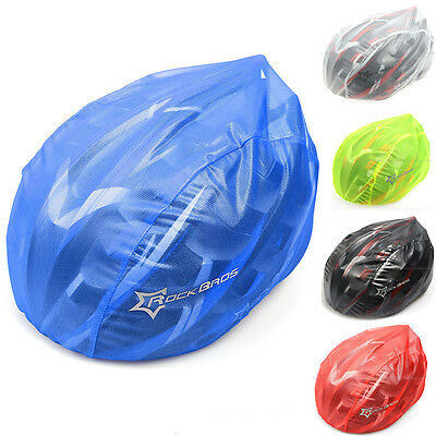 Rockbros Windproof Dust-proof Rain Cover MTB Road Bike Helmet Cover Five Color