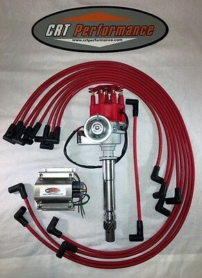 sb chevy sbc small cap h e i hei distributor kit w plug wires sb chevy sbc small cap h e i hei distributor kit w plug wires 50k e
