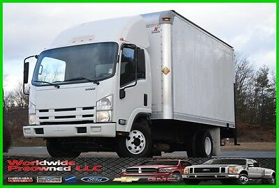 09 Isuzu NPR Cab Over 14ft Box Truck 6.0L Gas Automatic Used Commercial