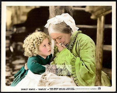 Shirley Temple Dimples ORIGINAL 1936 Color Promo Photo Heley Westley