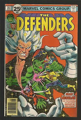 The Defenders #38 (Aug 1976, Marvel) hm