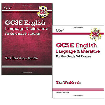 GCSE English Language and Literature Collection 2 Books Set Grade 9-1 Course NEW