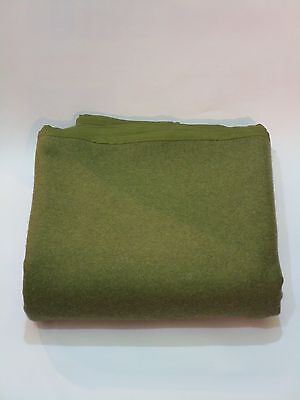 British Army Wool Blanket Brand New Olive Green (LB) VERY WARM
