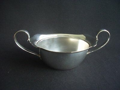 Vintage Silver Plated Twin Handled Sugar Bowl ~Classic Design ~Stylish