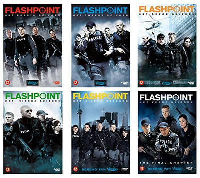 Flashpoint Complete Box set 1-6 -  DVD NEW