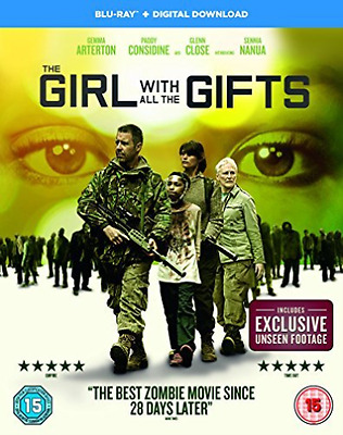 The Girl With All The Gifts  Blu-Ray New