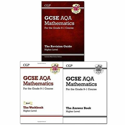 New GCSE Maths AQA Higher for the Grade 9-1 Course Collection 3 Books Set Pack