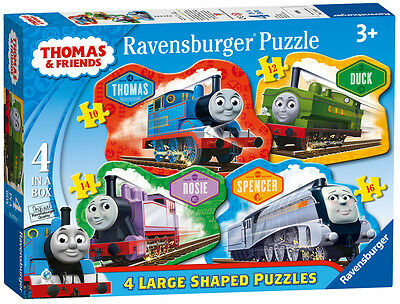 07078 Ravensburger Thomas&Friends Four Shaped Puzzles [Children's Jigsaw ] New!